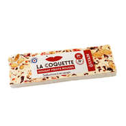 Nougat Silvain - Barre de nougat blanc aux fruits rouges