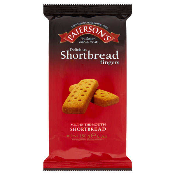 Biscuits shortbread Paterson's