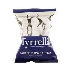 Tyrrells - Potato crisps - lightly sea salted