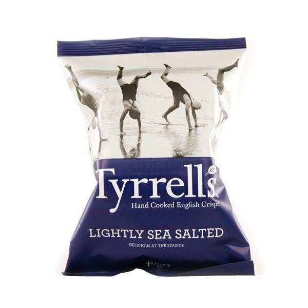 Potato crisps - lightly sea salted