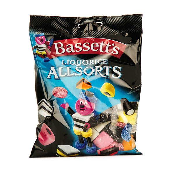 Bonbons assortis à la réglisse Bassett's