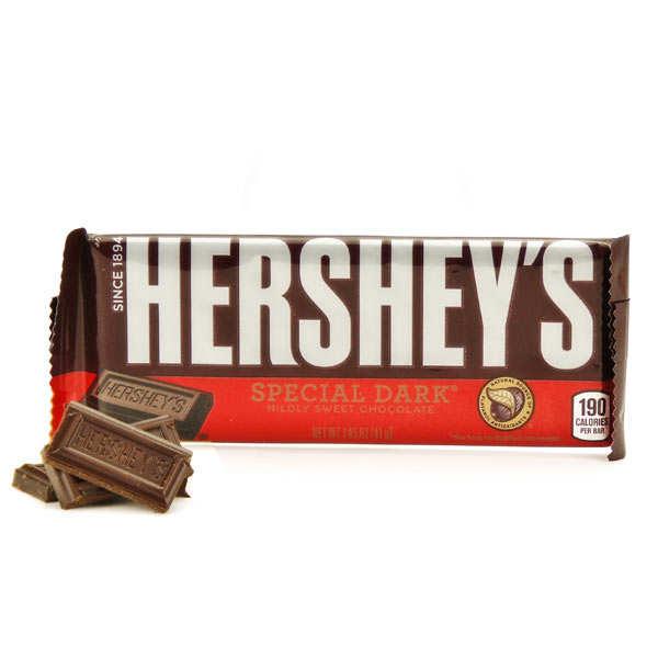Barre de chocolat special dark Hershey's