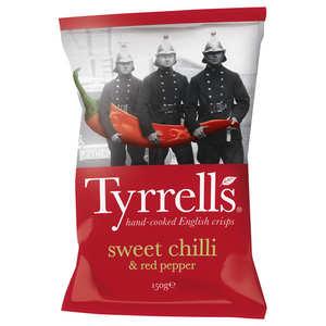 Tyrrells - Chips de pommes de terre au piment doux