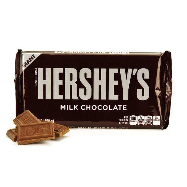 Barre géante Hershey's au chocolat