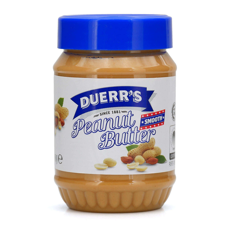Beurre de cacahuètes sans morceaux