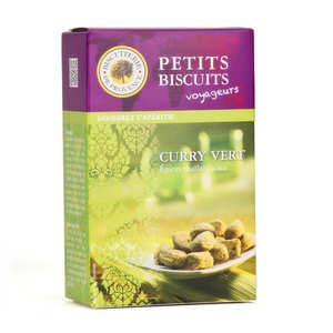 Biscuiterie de Provence - Biscuits apéritifs au curry vert thaïlandais