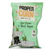 Propercorn - Popcorn crème et poivre