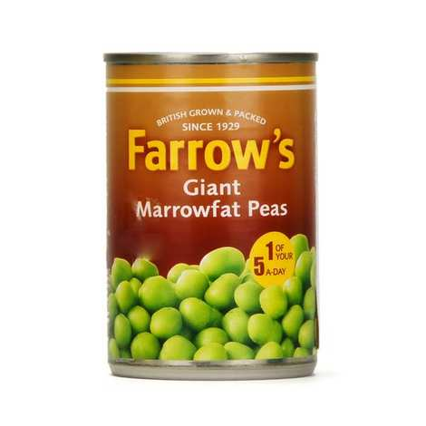Farrow's - Petits pois géants anglais Farrow's