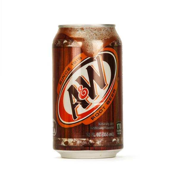 Soda A&W Root Beer