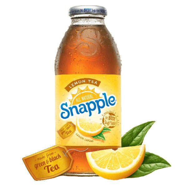 Thé glacé au citron Snapple