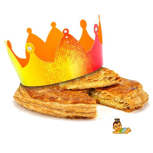 Galette des rois frangipane p tisserie st jacques - Decor galette des rois ...