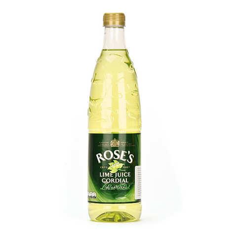 Rose's - Rose's Lime Juice Cordial - Boisson au citron vert