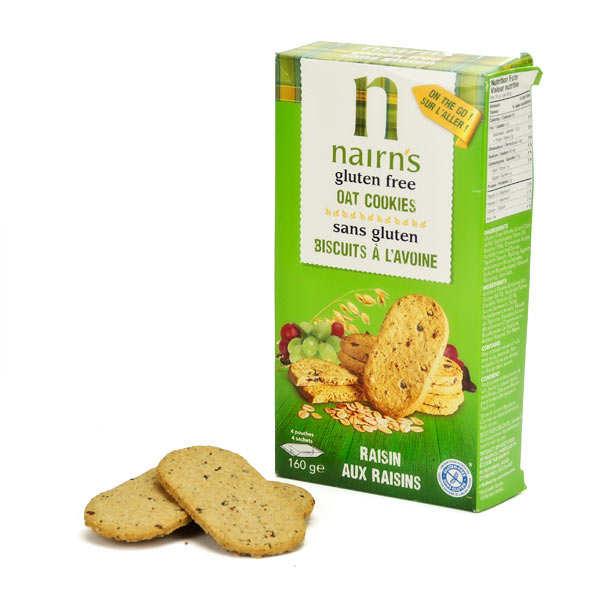 Biscuits Nairn's à l'avoine et aux fruits sans gluten