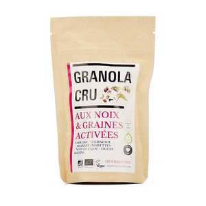 Happy Crulture - Organic and Activated Raw Granola