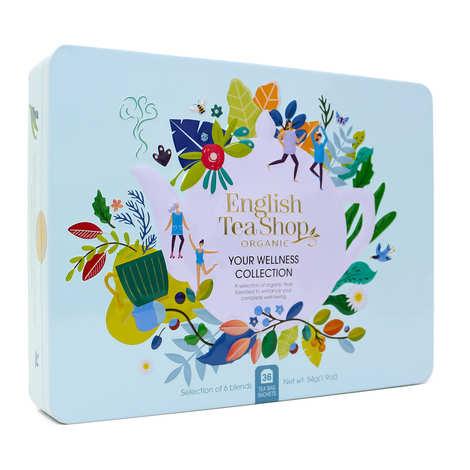 English Tea Shop - Organic Wellness Tea Collection - 36 bags 6 aromas