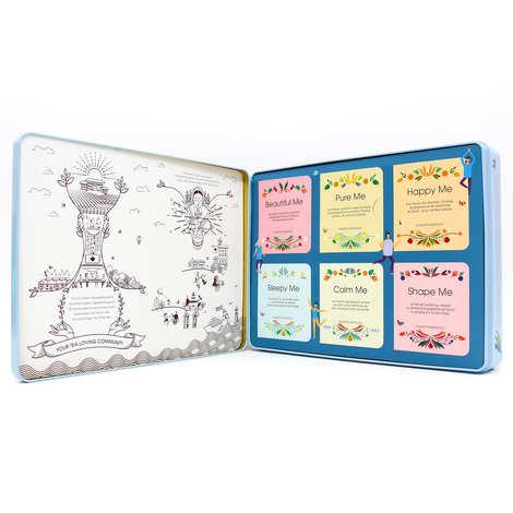English Tea Shop - Coffret de thé bio bien-être - 36 sachets 6 parfums