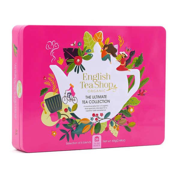 Coffret de thé bio premium - 36 sachets 6 parfums