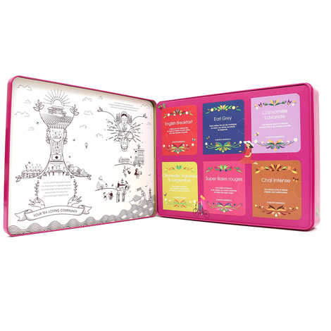 English Tea Shop - Coffret de thé et infusion bio premium - 36 sachets 6 parfums
