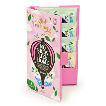 English Tea Shop - Organic teas packets - travel size format - 3 flavours