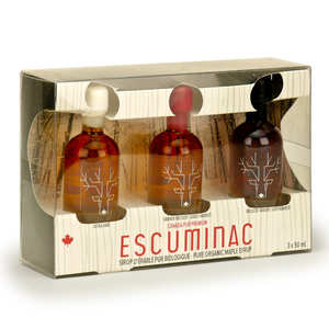 Escuminac Terroir - Escuminac 3 types Maple Syrup Box