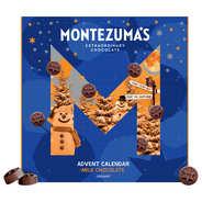 Montezuma's - Calendrier de l'avent chocolat lait bio - Montezuma