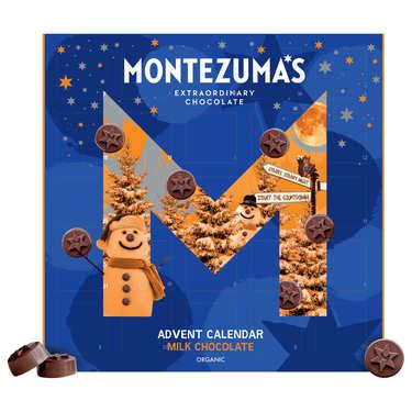 Calendrier de l'avent chocolat lait bio - Montezuma