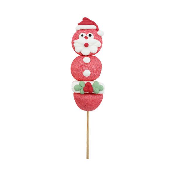 Brochette de bonbons Père Noël