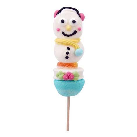 Bonbec Show - Snowman Candy Skewer