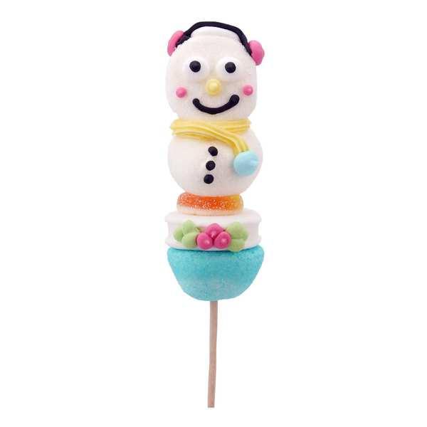 Snowman Candy Skewer