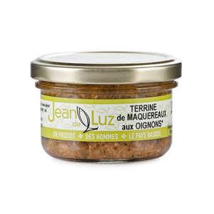 Batteleku - jean de Luz - Terrine de maquereaux aux oignons