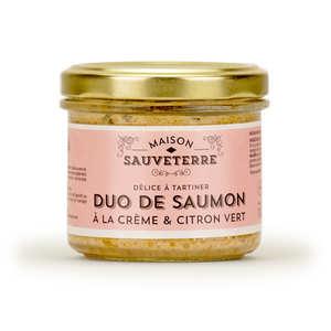 Maison Sauveterre - Salmon with lime Spread - Maison Sauveterre