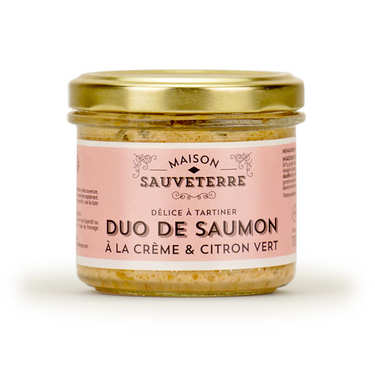 Salmon with lime Spread - Maison Sauveterre