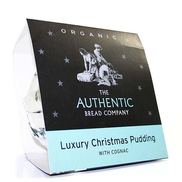 Pudding de Noël bio au cognac