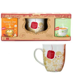 Yogi Tea - Coffret Yogi Tea avec tasse de thé