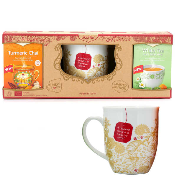 Coffret Yogi Tea avec tasse de thé