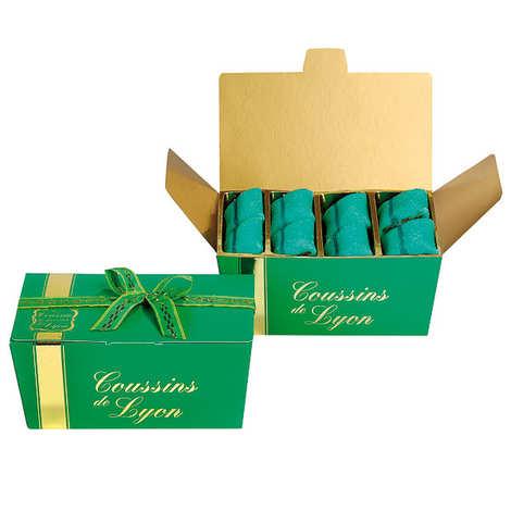 Voisin chocolatier torréfacteur - Les Coussins de Lyon en ballotin - Voisin