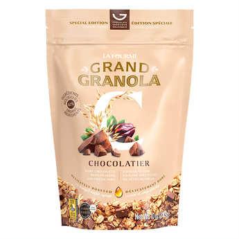 Fourmi Bionique - Granola gourmet mélange chocolatier