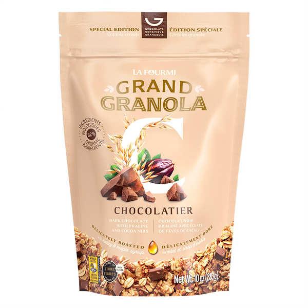 Granola gourmet mélange chocolatier