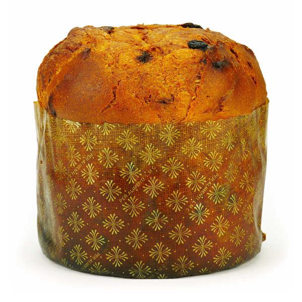 Panettone traditionnel bio pur beurre 500g