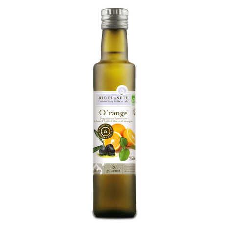 BioPlanète - Huile d'olive et orange O'range bio