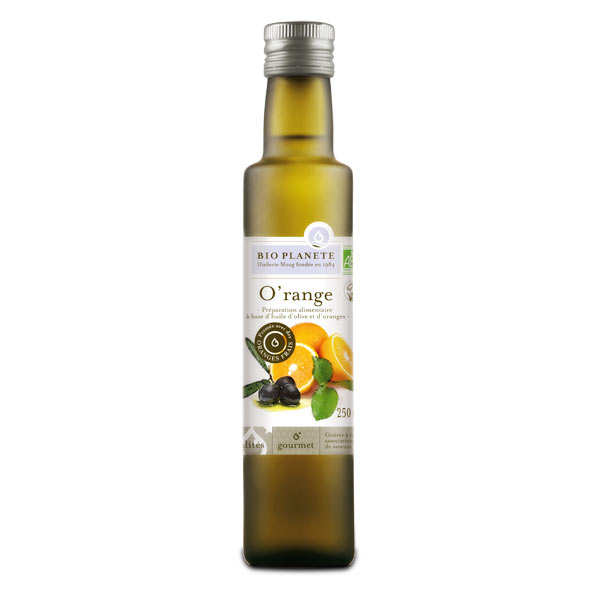 Organic Olive Oil and Orange Mixture