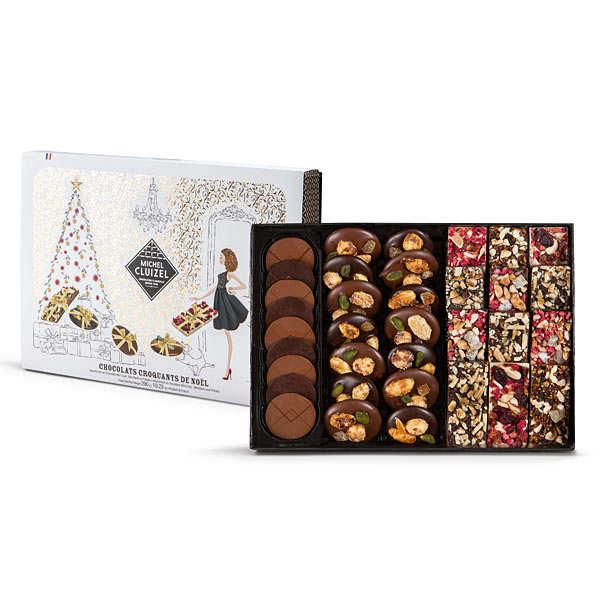 Christmas Crunchy Chocolate Gift Box - Cluizel