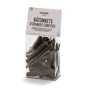 Candied Orange in Dark Chocolate - Michel Cluizel
