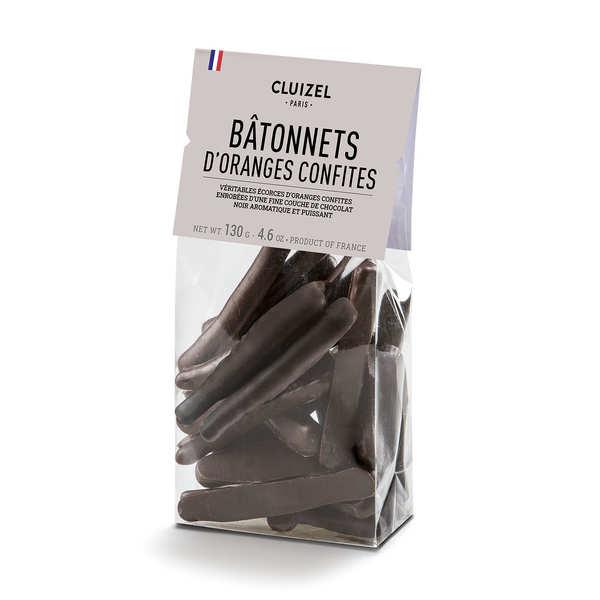 Candied Orange in Dark Chocolate - Michel Cluizel