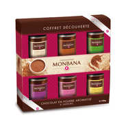 Monbana Chocolatier - Discovery Powder Chocolate Gift Box