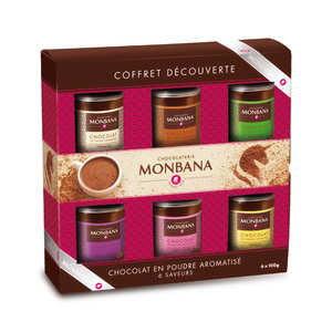 coffret d couverte de chocolat en poudre monbana chocolatier. Black Bedroom Furniture Sets. Home Design Ideas