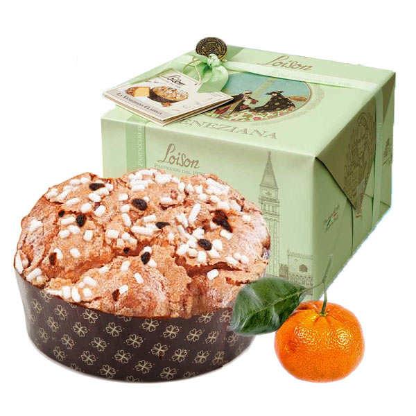 Panettone with mandarin