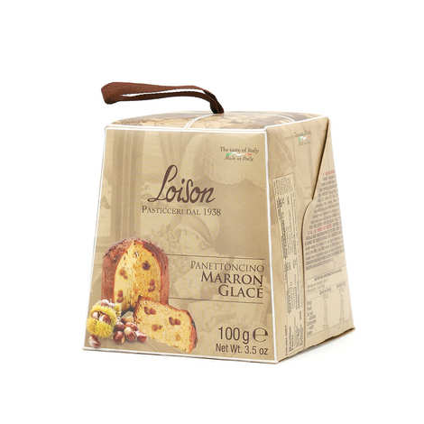 Dolciara A. Loison - Panettone with Candied Chestnut - 100g