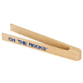 On The Rocks - Ice Cube Tongs made with Wood