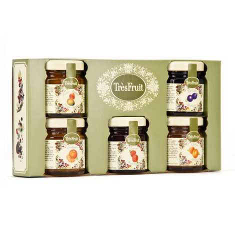 Andresy confitures - 5 Jams Gift Box